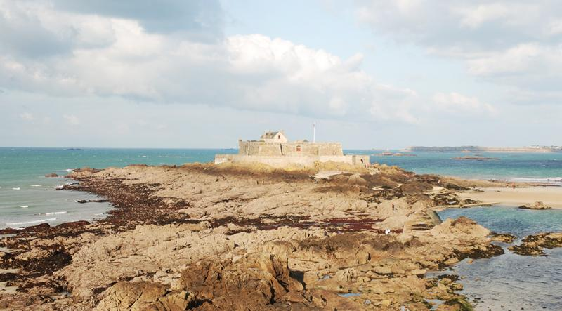 Historical site in st malo