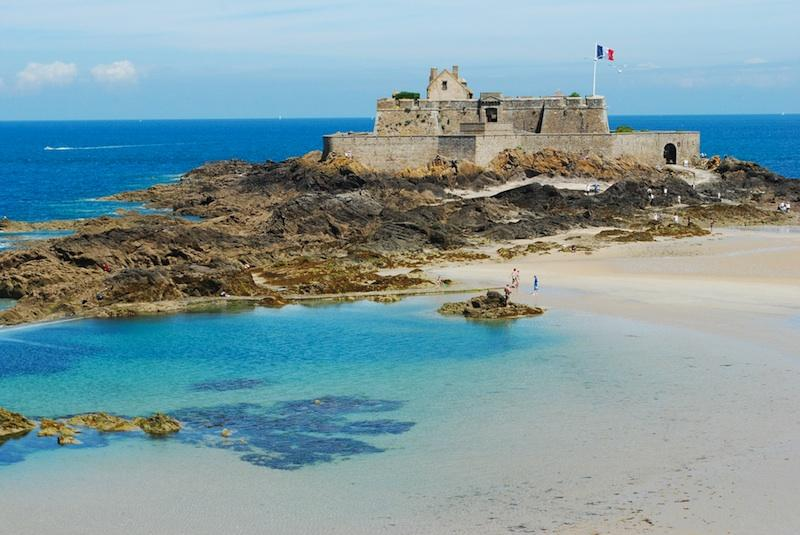 National fort in saint malo